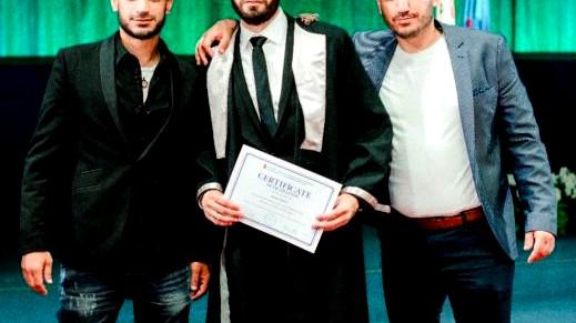 بير السكة: احمد قطاوي يجتاز امتحان مزاولة الطب