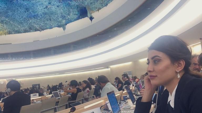 سارة عيدان تستنجد بالأمم المتحدة