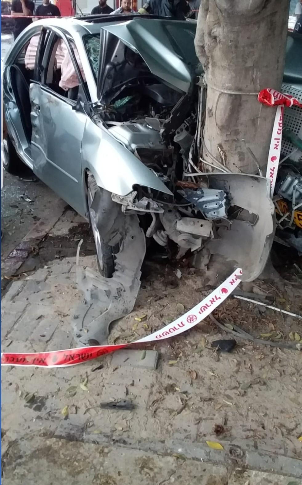 باقة الغربية: مصرع شاب واصابة اخرين بحادث طرق مروع