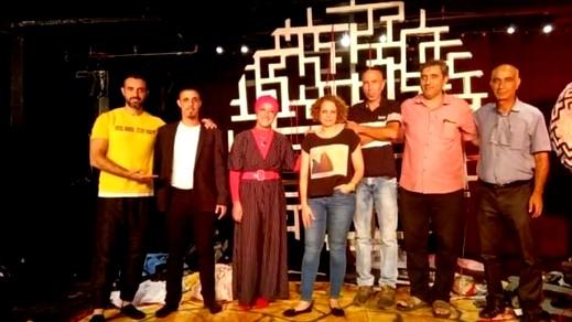 فوز مسرحية الخازوق في مهرجان تسافتا