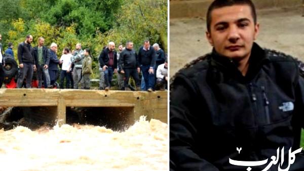 البحث عن فتى جرفته الفيضانات قرب يركا