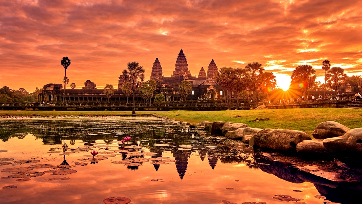 هل فكّرتم مرة بزيارة سياحية إلى كمبوديا؟