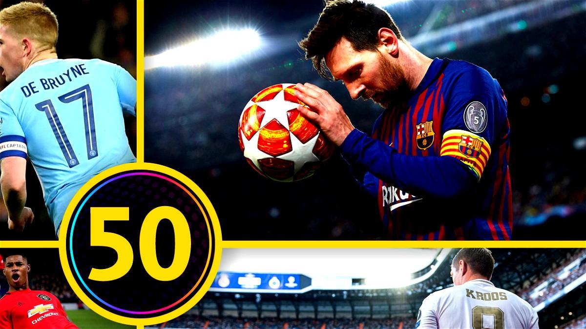 أفضل 50 هدفًا لضربات بعيدة المدى  2019/2020