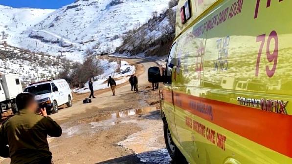 إصابة شابة (20 عامًا) في جبل الشيخ