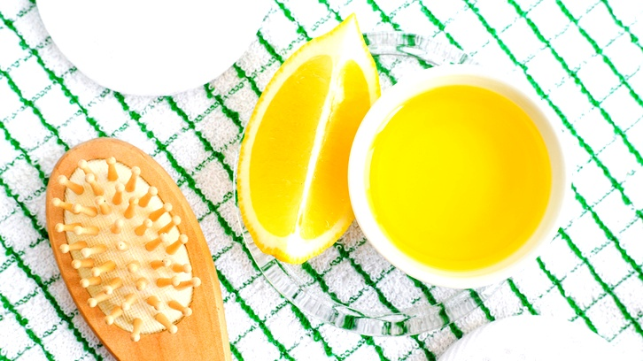 فوائد زيت الزيتون والليمون للشعر