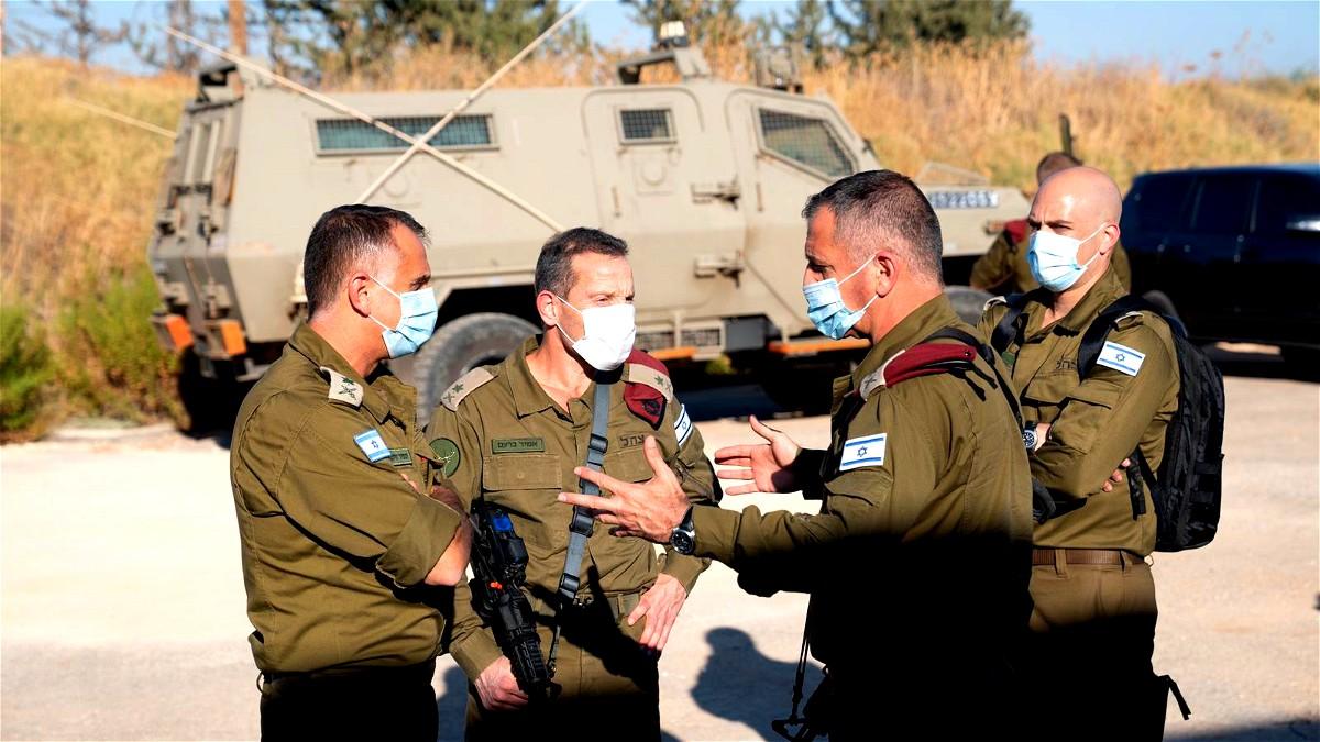 رئيس الأركان الاسرائيلي يتفقد القوات على الحدود