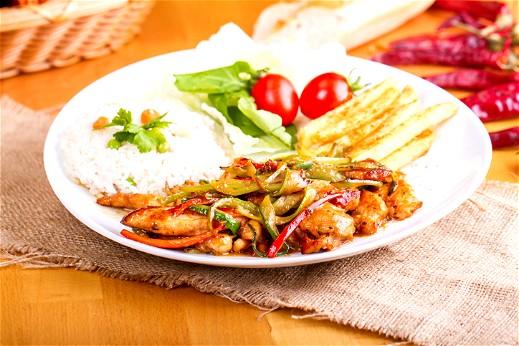 دجاج فاهيتا مع الأرز..