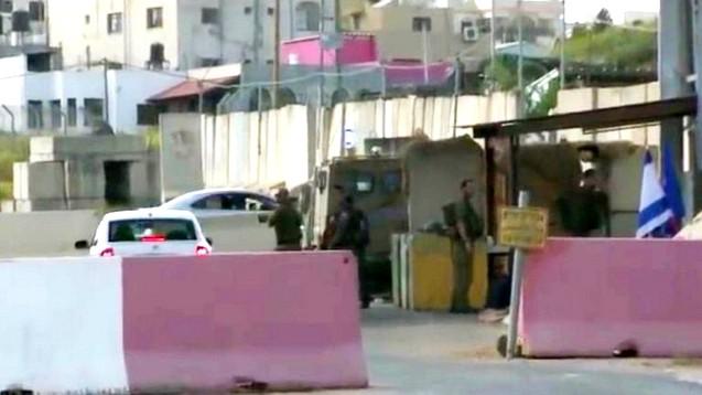 الجيش الاسرائيلي يغلق مدخل الغجر