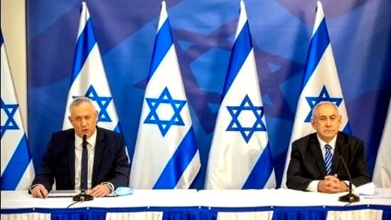 أزمة الحكومة الإسرائيلية  غانتس يهاجم نتنياهو