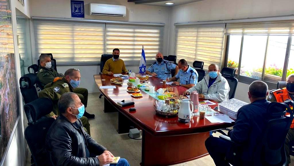 كورونا  الجبهة الداخلية تجري جلسات تقييم بالشمال