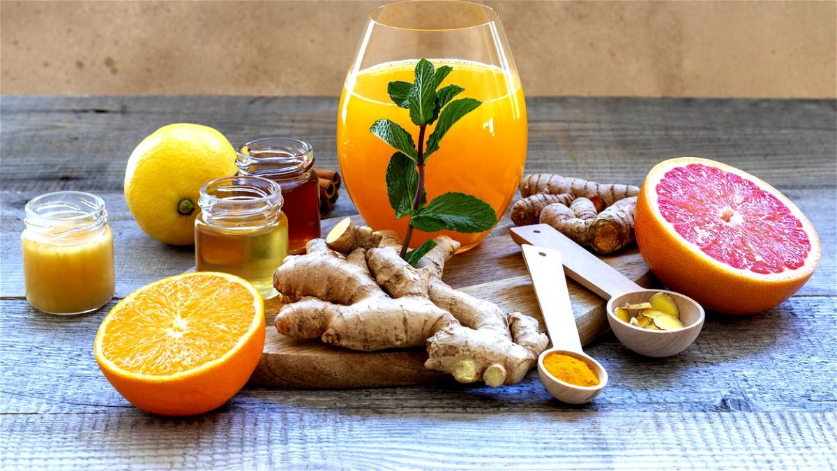 عصير البرتقال بالزنجبيل.. صحتين