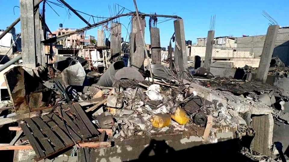 سقوط صاروخ على منزل شرقي بيت حانون