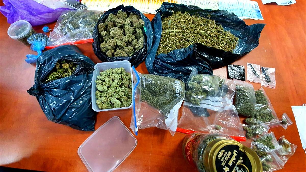كريات يام:اعتقال مشتبهين بحيازة المخدرات