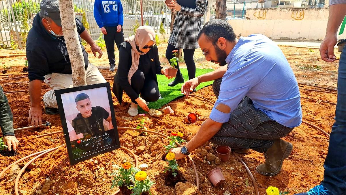 جلجولية: اقامة حديقة على اسم المرحوم محمد عدس