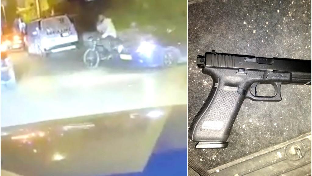 قلنسوة: مشتبه يطلب من ابنه اخفاء مسدس
