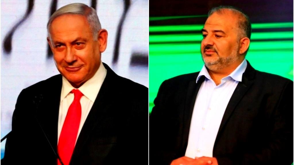 منصور عباس رئيسًا للجنة شؤون العرب