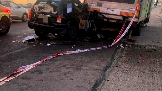إصابات بحادث طرق على مفرق معليا