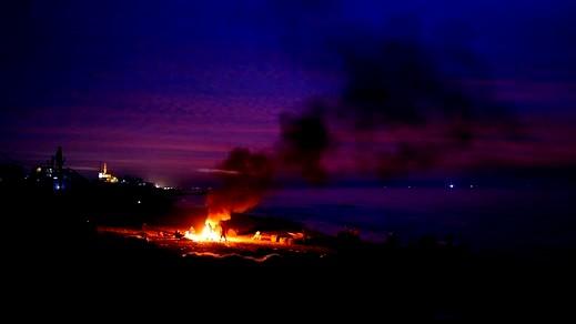 الجيش الاسرائيلي يقصف مواقع لحماس في غزة