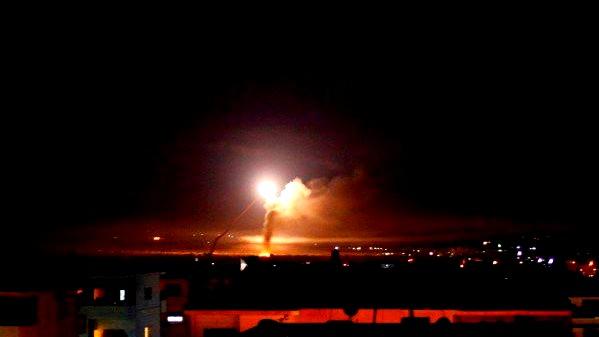 رصد 3 قذائف صاروخية في الجنوب