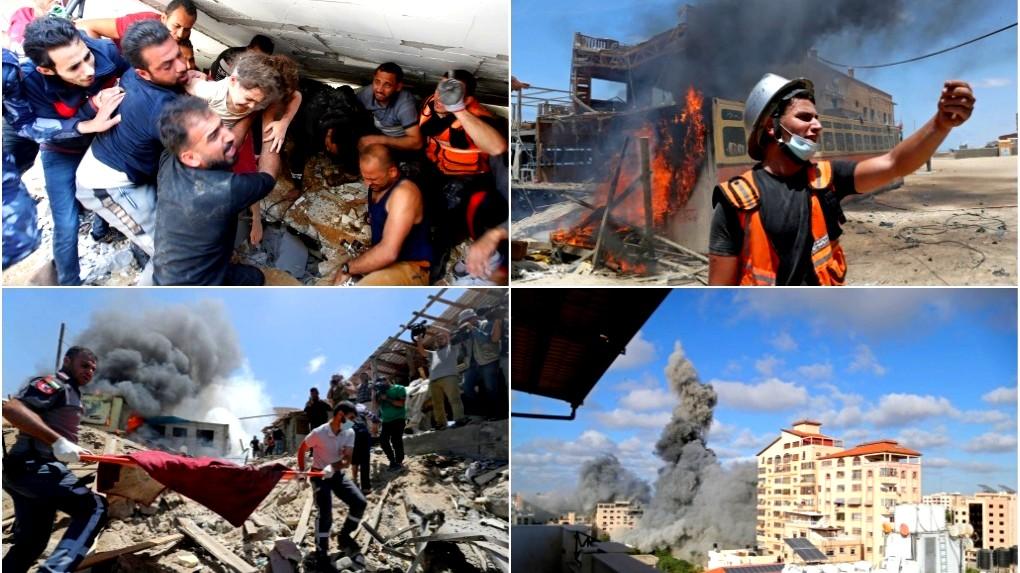 أسبوع من العدوان على غزة  أكثر من 200 شهيد