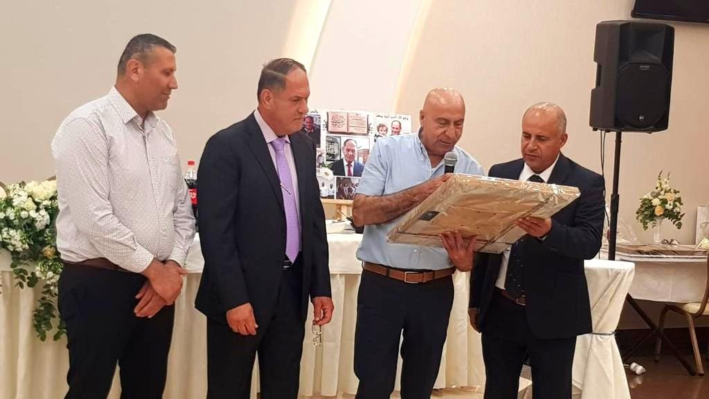 يافة الناصرة: تكريم المربي مشهور عباس