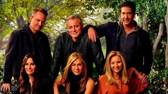 عرض حلقة Friends الخاصة