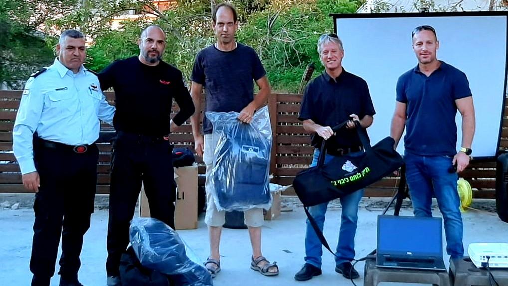 وحدات تطوع للإطفاء بمجلس الجلبوع