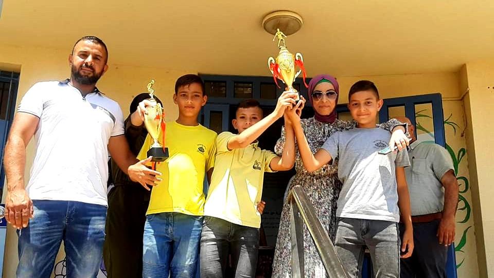 اختتام دوري كرة القدم في مدرسة جبل سيخ بعين ماهل
