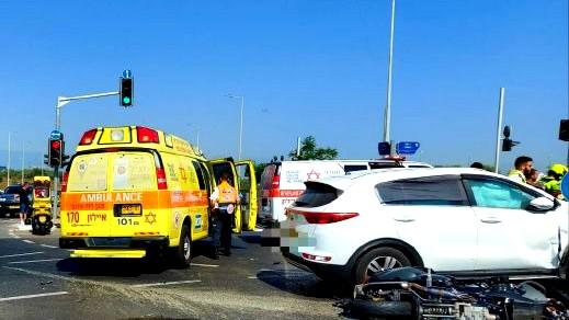مصرع رجل وإصابة طفل بحادث في ريشون لتسيون