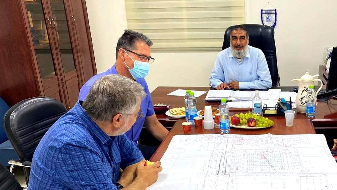 رئيس مجلس حورة يستقبل رئيس لهافيم