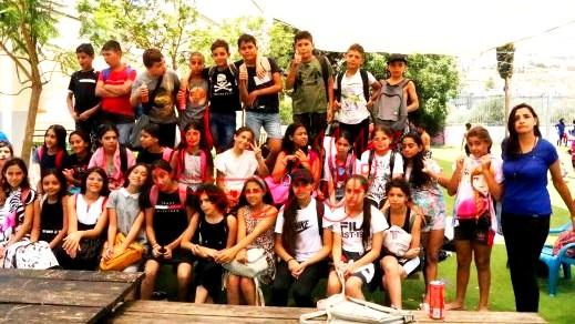 مجد الكروم: زيارة تفقدية للمخيمات الصيفية