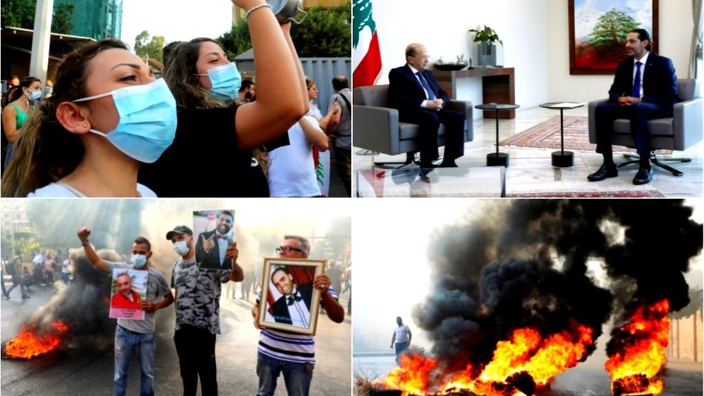 أزمة لبنان: عون يرفض تشكيلة الحكومة