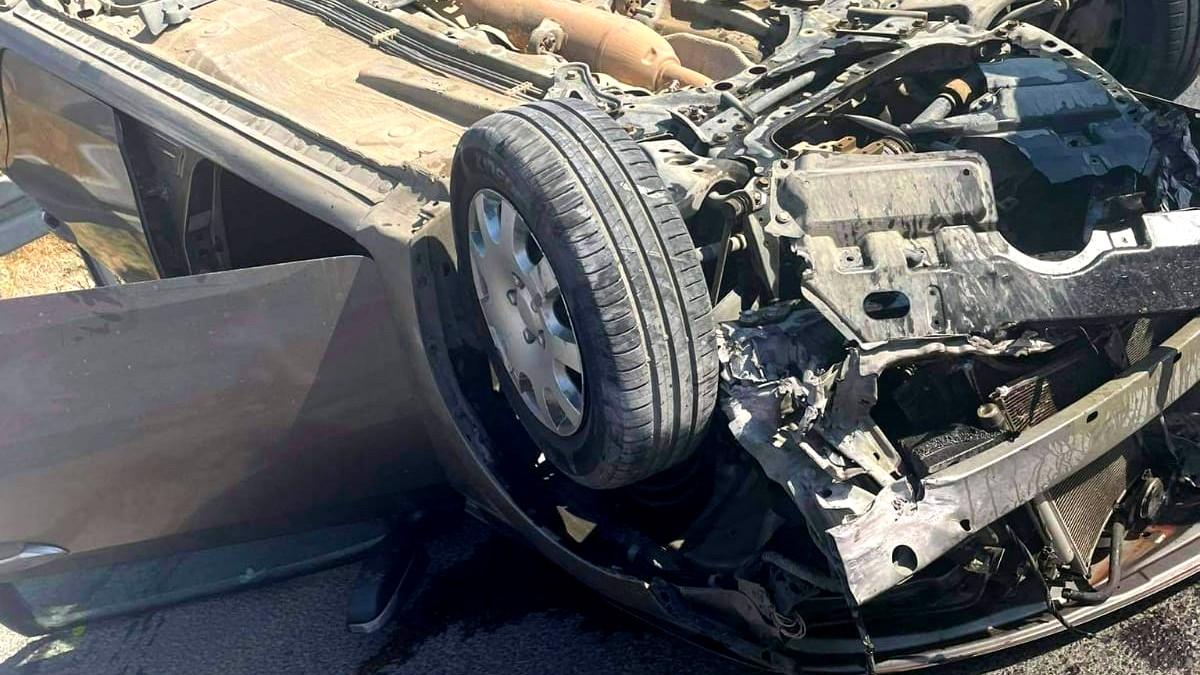 اصابة شابة في حادث طرق بالطيبة