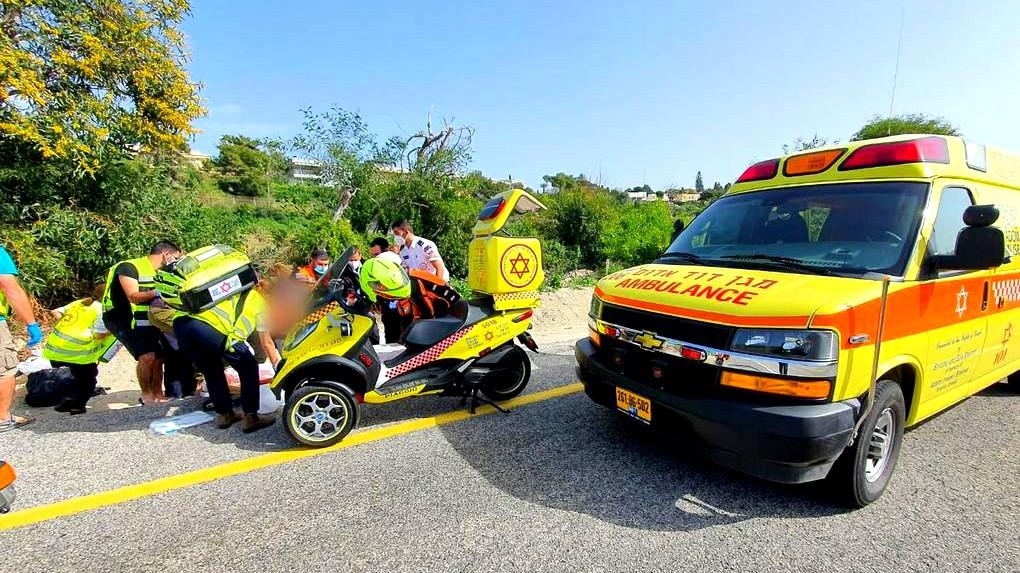 إصابة خطيرة بحادث طرق قرب جولس