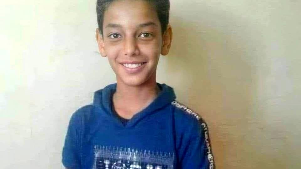 غزة: استشهاد الطفل عمر أبو النيل