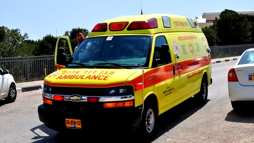 إصابة شاب (40 عامًا) بحادث قرب أور يهودا