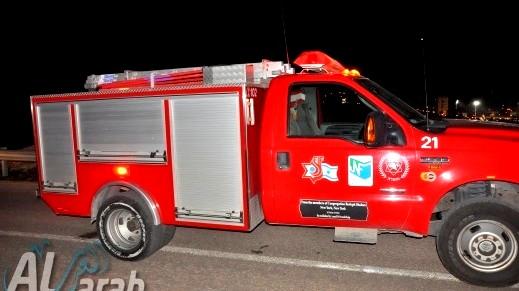 اندلاع حريق بشقة في ريشون لتسيون