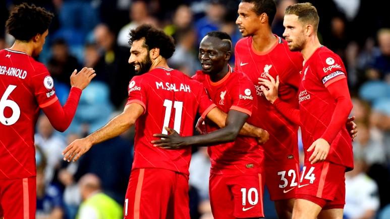 ليفربول يكتسح ليدز بثلاثية بالدوري الإنجليزي