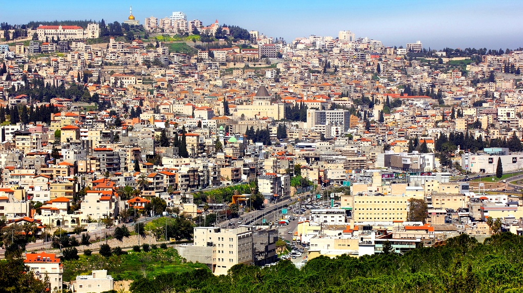 الناصرة  اغلاق شوارع في حي البشارة