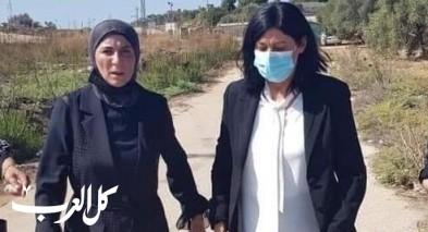 صورة  الإفراج عن الأسيرة القيادية والنائب في المجلس التشريعي الفلسطيني خالدة جرار