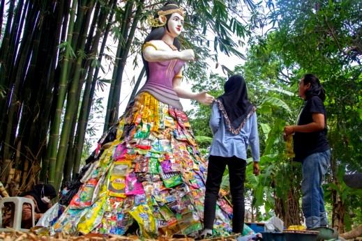 متحف إندونيسي مصنوع من
