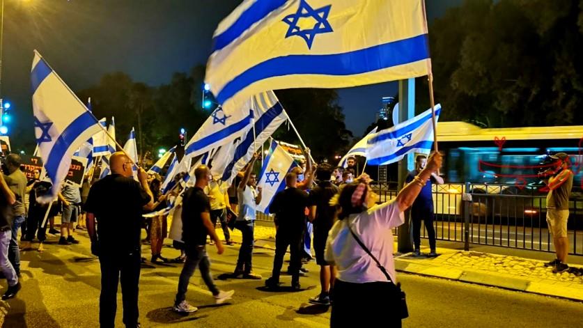 مسيرية تحريضية لليمين في بئر السبع