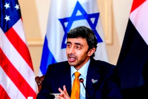 وزير خارجية الإمارات:راضون عن