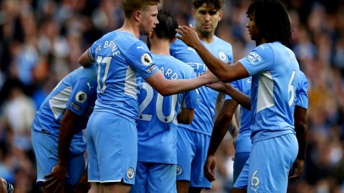 مانشستر سيتي يعبر بيرنلي بثنائية في الدوري الإنجليزي