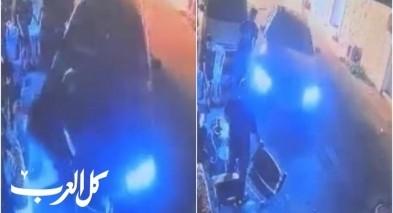 توثيق مُروع| حادث دهس متعمد في الرملة على خلفية نزاع  بين عائلتين