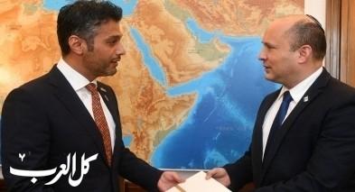ولي العهد الإماراتي يوجّه دعوة لرئيس الوزراء الإسرائيلي نفتالي بينيت لزيارة رسمية أولى