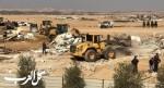 جرافات السلطات تهدم 4 منازل في تل السبع