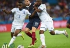 فرنسا وهندوراس 3 - 0 فيديو اهداف
