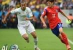 الجزائر وكوريا 4 - 2 فيديو اهداف