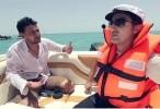 رامز قرش البحر الحلقة 8 كاملة مع الاعلامي شريف مدكور برنامج ترفيهي مقالب اثارة - رمضان 2014